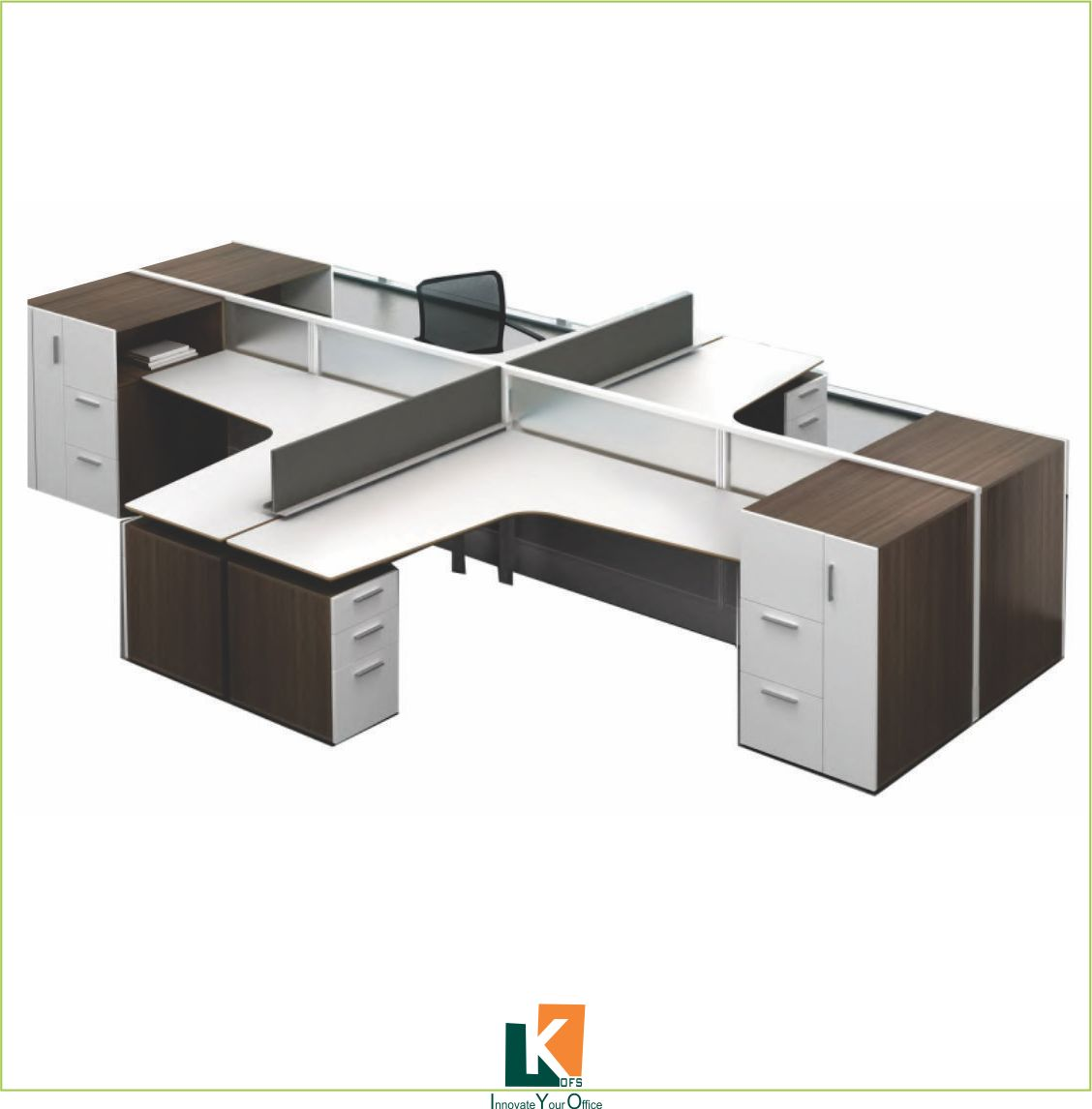 modular office workstation